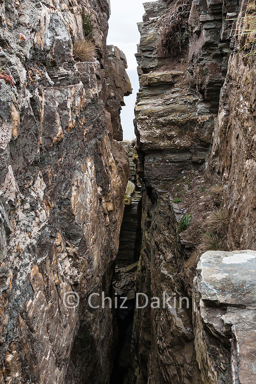 The Chasms are very deep - and some are much less obvious than this!