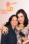 (R-L) Friend, and Kaye Popofsky Kramer, Founder of Step Up Wome's Network