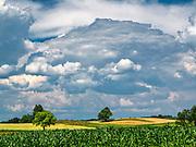 Krajobraz Suwalszczyzny w okolicach Suwałk, Polska<br /> Landscape of the Suwałki Region, Poland