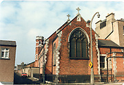 Old amateur photos of Dublin streets churches, cars, lanes, roads, shops schools, hospitals, Streetscape views are hard to come by while the quality is not always the best in this collection they do capture Dublin streets not often available and have seen a lot of change since photos were taken Matter Hospital, Mountjoy Street St Joseph's School, Brendan Brady March 1987