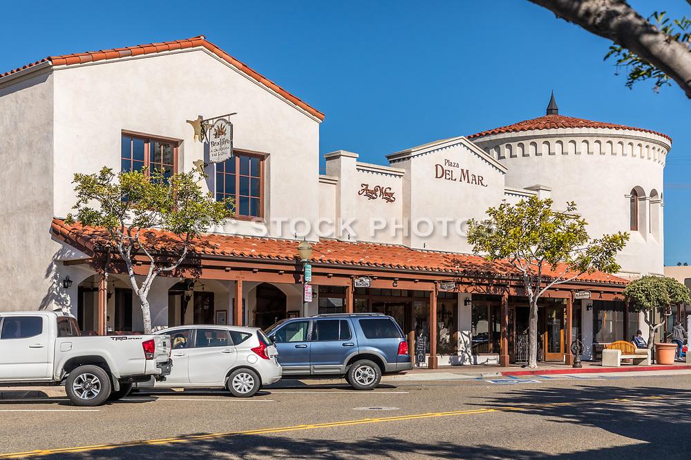 Plaza Del Mar on Del Mar Street and Ola Vista