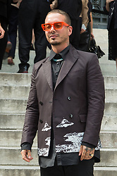 J Balvin arrives at Valentino fashion Show during Menswear Spring/Summer 2020 on June 19, 2019 in Paris, France. Photo by Nasser Berzane/ABACAPRESS.COM