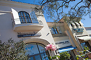 Retail Shops and Starbucks Coffee at Waterside Center in Marina Del Rey