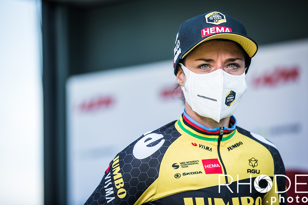 Marianne Vos (NED/Jumbo-Visma) post race<br /> <br /> <br /> 7th Amstel Gold Race Ladies Edition <br /> Valkenburg > Valkenburg 116km<br /> <br /> ©RhodePhoto