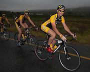 Lance Armstrong joins 43 riders to raise funds for the JAG foundation. The riders rode from Lourensford to Arabella Hotel near Kleinmond. The group enjoyed a delicious dinner and auction at Benguela Cove. Lance is in South Africa on the Discovery Lance For Life Tour with the JAG Foundation. Picture by Greg Beadle
