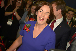 SCOTTISH PARLIAMENTARY ELECTION 2016 – Kezia Dugdale Scottish Labour Party at the Royal Highland Centre, Edinburgh for declaration of results.<br />