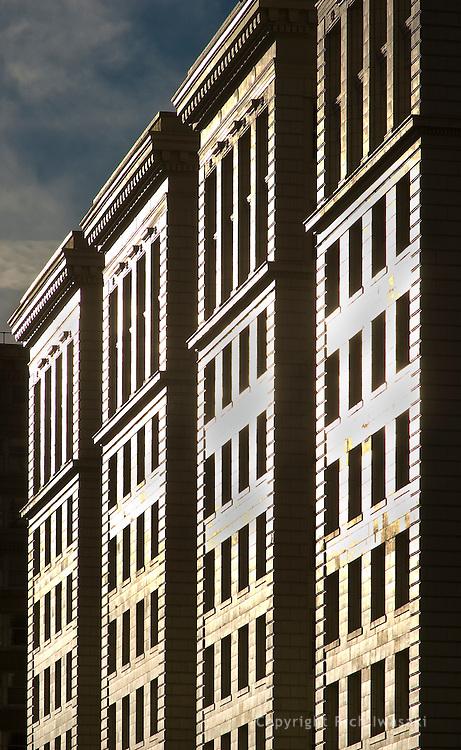 Architectural detial of Dexter Horton Building, Seattle, Washington