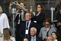 May 24, 2017 - Stockholm, Sverige - 170524 Sveriges förbundskapten Janne Andersson under finalen i Europa League mellan Ajax och Manchester United den 24 maj 2017 i Stockholm  (Credit Image: © Ludvig Thunman/Bildbyran via ZUMA Wire)