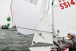 , Travemünde - Travemünder Woche 21. - 30.07.2017, 420er - GER 55144 - Justin LENZEN - Felix LENZEN - Yacht-Club Bayer Leverkusen e.V