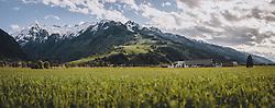 THEMENBILD - die Tauern Spa Kaprun und der Kitzsteinhorn Gletscher in der blühenden Landschaft des Pinzgaus, aufgenommen am 02. Mai 2020 in Kaprun, Österreich // the Tauern Spa Kaprun and the Kitzsteinhorn glacier in the blooming landscape of the Pinzgau, Kaprun, Austria on 2020/05/02. EXPA Pictures © 2020, PhotoCredit: EXPA/ JFK