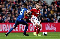 Adam Clayton of Middlesbrough takes on Marcus Rashford of Manchester United - Mandatory by-line: Robbie Stephenson/JMP - 19/03/2017 - FOOTBALL - Riverside Stadium - Middlesbrough, England - Middlesbrough v Manchester United - Premier League
