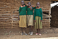 This project was shot in 2008 at the Mutaro School, which is located in the Laikipia district, one of the seventy-one districts of Kenya.<br /> I was commissioned to take these photographs by The Rainbow Collections Children Foundation in order to raise funds to rebuild the school.<br /> The new school is now finished!!<br />  <br /> We spent a week at the school and witnessed the day-to-day life of these children; <br /> some of them walk two hours every day, each way, to go to school and back home;<br /> Some days the school cannot provide any food as the state's support fails to reach them.<br /> The learning environment is very challenging to say the least and the school's structure is almost non-existent and falling apart.<br /> The girls have to skip school regularly as there are not any proper toilets.