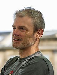 Pictured: Mark Haddon<br /><br />Mark Haddon is an English novelist, best known for The Curious Incident of the Dog in the Night-Time. He won the Whitbread Award, the Dolly Gray Children's Literature Award, Guardian Prize, and a Commonwealth Writers Prize for his work.<br /><br />Ger Harley   EEm 18 August 2019