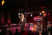 l to r: Kim Jordan, Gil Scott and Glenn Turner at Gil Scott Heron Produced by Jill Newman Productions and held at BB King on November 4, 2009 in New York City