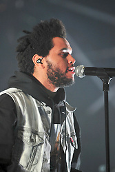 © Licensed to London News Pictures. 08/07/2012. London, UK. The Weeknd  at the Wireless Festival in Hyde park  London July 6 - 8 2012  Photo credit : ALAN ROXBOROUGH/LNP