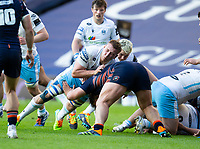 Rugby Union - 2021 Guinness Pro14 Rainbow Cup - Northern Group - Edinburgh vs Glasgow Warriors - Murrayfield<br /> <br /> Matt Fagerson of Glasgow Warriors in action<br /> <br /> Credit : COLORSPORT/BRUCE WHITE