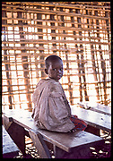 Student in Class, Ngorongoro Crater, Tanzania, July, 2002
