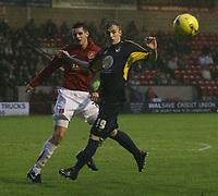 Photo: Mark Stephenson.<br />Walsall v Bristol Rovers. Coca Cola League 2. 30/12/2006.<br />Rover's Stuart Nicholson on the ball.