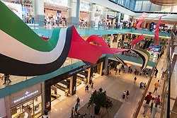 Interior of Dubai Mall in Dubai, United Arab Emirates,UAE