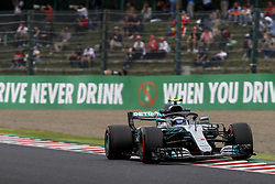 October 5, 2018 - Suzuka, Japan - Motorsports: FIA Formula One World Championship 2018, Grand Prix of Japan, .World Championship 2018 Grand Prix Japan#77 Valtteri Bottas (FIN, Mercedes AMG Petronas) (Credit Image: © Hoch Zwei via ZUMA Wire)