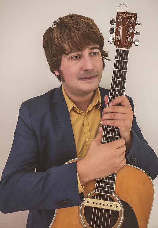 Nederland. Hilversum, 11-09-2018. Photo: Patrick Post. Portret van Yorick van Norden, muzikant.