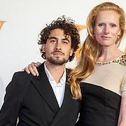 NLD/Katwijk/20151030 - 5 Jarig jubileumvoostelling musical Soldaat van Oranje, Jolanda van den Berg en .....