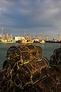 Lobster pots at Kilmore Quay, Wexford, Ireland
