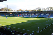 JD Stadium prior the The Emirates FA Cup 1st Round match between Bury and AFC Wimbledon at the JD Stadium, Bury, England on 5 November 2016. Photo by Stuart Butcher.