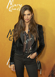 December 4, 2018 - New York, New York, United States - Sara Sampaio attends the New York premiere of 'Mary Queen Of Scots' at Paris Theater  (Credit Image: © Lev Radin/Pacific Press via ZUMA Wire)
