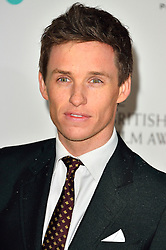 © Licensed to London News Pictures. 13/02/2016.  EDDIE REDMAYNE attends the BAFTA Lancôme Nominees' Party held at Kensington Palace. London, UK. Photo credit: Ray Tang/LNP