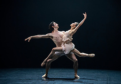 Northern Ballet <br /> Contemporary Cuts 2021 <br /> at Sadler's Wells, London, Great Britain <br /> 11th June 2021 <br /> Rehearsal <br /> Ballet is back for 2021 with this exciting compilation of world-class dance from Northern Ballet.<br /> <br /> 1984 by Jonathan Watkins <br /> Minju Kang<br /> Lorenzo Trossello<br /> <br /> <br /> Contemporary Cuts 2021 <br /> Runs 11th & 12th June 2021 <br /> <br /> <br /> <br /> Photograph by Elliott Franks
