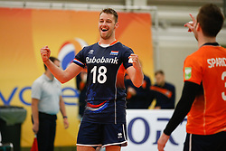 20170524 NED: 2018 FIVB Volleyball World Championship qualification, Koog aan de Zaan<br />Robbert Andringa (18) of The Netherlands <br />©2017-FotoHoogendoorn.nl / Pim Waslander
