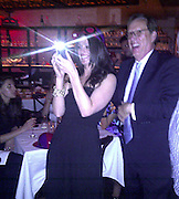 James Woods watching his girlfriend Ashley Madison dance on top of the table..Italian Riviera Party Hosted by Rocco Ancarola..Lavo Restaurant NYC..New York, NY, USA..Sunday, June 05, 2011..Photo By CelebrityVibe.com..To license this image please call (212) 410 5354; or.Email: CelebrityVibe@gmail.com ;.website: www.CelebrityVibe.com.**EXCLUSIVE**