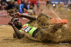 2020 USATF Indoor Championship<br /> Albuquerque, NM 2020-02-15<br /> photo credit: © 2020 Kevin Morris<br /> mens triple jump, asics