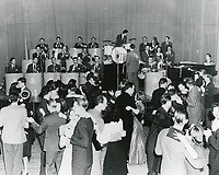1940 Tommy Dorsey and his orchestra at The Hollywood Palladium