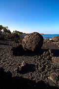 Keawaiki, Black Sand Beach, Kohala, Big Island of Hawaii