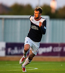 Falkirk's Rory Loy.<br /> Falkirk 2 v 1 Dunfermline, Scottish League Cup, 27/8/2013, at The Falkirk Stadium.<br /> ©Michael Schofield.