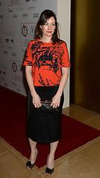 Rachel Tunnard arrives at the London Critics' Circle Film Awards at the May Fair Hotel in London.