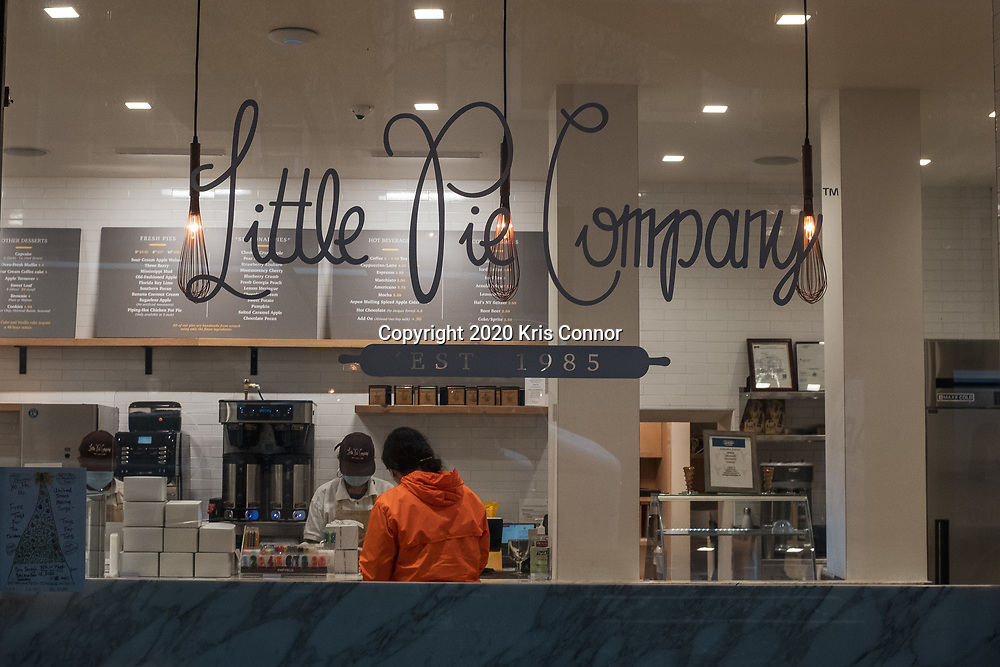 The original Apple Pie from The Little Pie Company in Hells Kitchen, NY on November 30, 2020. Photo by Kris Connor