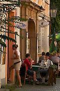 Czeck Republic - Prague, Nove Mesto cafe and gallery