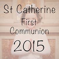 St Catherine 2015 First Communion