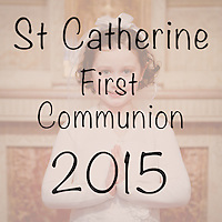St Catherine 2015 First Communion Cover Image
