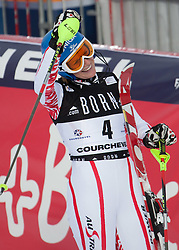 21.12.2010, Stade Emile Allais, Courchevel, FRA, FIS World Cup Ski Alpin, Ladies, Slalom, im Bild Marlies Schild (AUT) reacts in the finish area of the FIS Alpine skiing World Cup ladies slalom race in Courchevel 1850, France. EXPA Pictures © 2010, PhotoCredit: EXPA/ M. Gunn