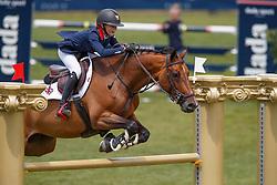Heath Madison, GBR, Burgana<br /> European Championship Children, Juniors, Young Riders - Fontainebleau 1028<br /> © Hippo Foto - Dirk Caremans<br /> Heath Madison, GBR, Burgana