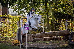 Goffin Yaika, BEL, Diabolo Du Chesselet<br /> LRV Ponie cross - Zoersel 2018<br /> © Hippo Foto - Dirk Caremans<br /> 28/10/2018