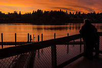 Sunset @ Port Plaza, West Bay, Olympia