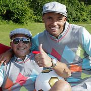 NLD/Velsen/20120530 - LAF Voetgolftoernooi 2012, Najib Amhali en Demy de Zeeuw