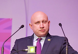 UKIP 2015 Spring Conference at the Winter Gardens Margate, Great Britain <br /> 28th February 2015 <br /> <br /> Andrew Charalambous <br /> Housing Spokesman <br /> PPC for NE Cambridgeshire <br /> <br /> <br /> Photograph by Elliott Franks <br /> Image licensed to Elliott Franks Photography Services