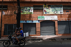June 16, 2018 - Exterior of the nightclub ''El Paraiso'' where a stampede happened in Caracas, Venezuela. At least 17 people were killed in a stampede at a nightclub in capital Caracas on Saturday morning after the explosion of a tear gas bomb, Venezuela's interior minister Nestor Luis Reverol said. (Credit Image: © [E]Boris Vergara/Xinhua via ZUMA Wire)