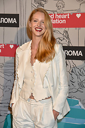 Abby Champion at the Fabulous Fund Fair in aid of Natalia Vodianova's Naked Heart Foundation in association with Luisaviaroma held at The Round House, Camden, London England. 18 February 2019.